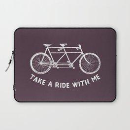 take a ride Laptop Sleeve