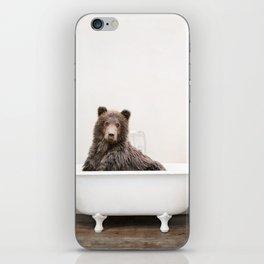 Bear Bath (c) iPhone Skin