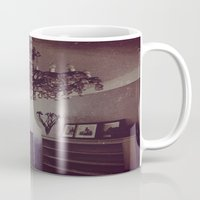 antique Mugs featuring Antique by Jane Lacey Smith