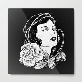 Pin-up woman b 2 Metal Print