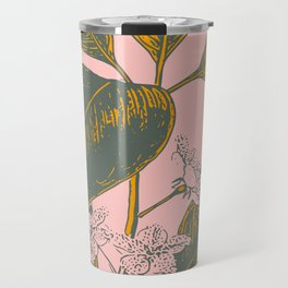 Modern Botanical Banana Leaf Travel Mug