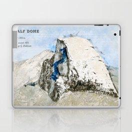 Half Dome, Yosemite USA Laptop & iPad Skin