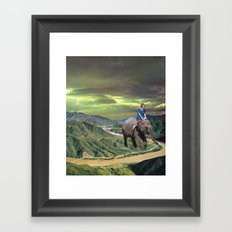 DAY TRIPPER Framed Art Print