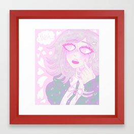 Chiaki Nanami Framed Art Print