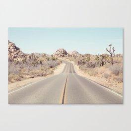 Joshua Tree Desert Road - Landscape Photography Canvas Print