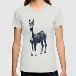 Llama Art T-shirt