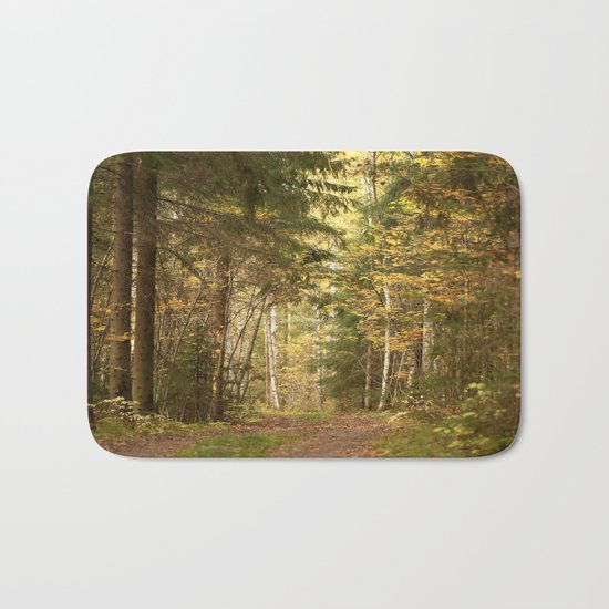In The Forest Bath Mat