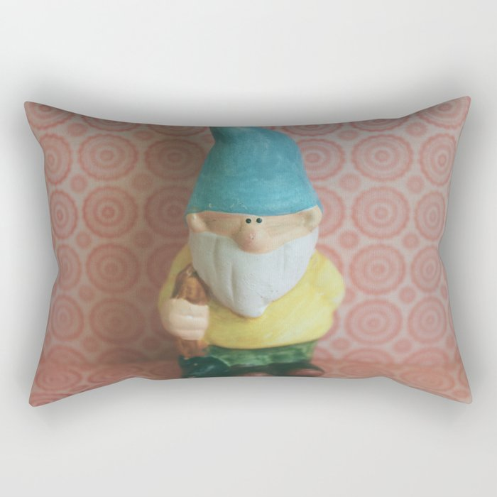 Chillin' with my Gnomies - I Rectangular Pillow