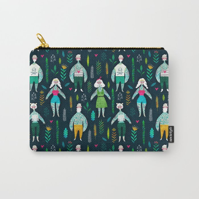 Tattooed guys Carry-All Pouch