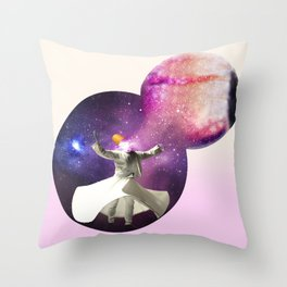 The eye of the dervish Throw Pillow
