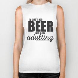 Long Day = Beer Biker Tank