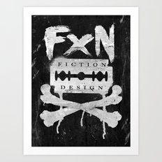 Fiction Design Art Print