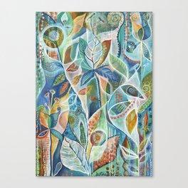 Secret Garden by Justine Aldersey-Williams Canvas Print