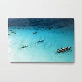 White Beach Boracay Metal Print