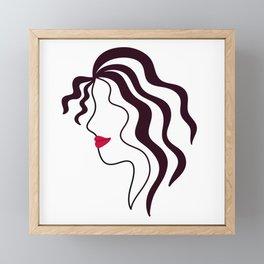 Sassy Framed Mini Art Print