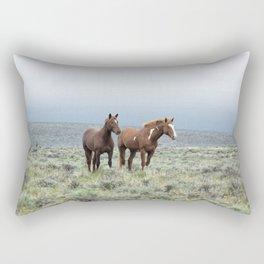 Wild Horses - Steens No. 1 Rectangular Pillow