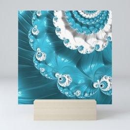 Soft Blue  Mini Art Print