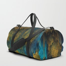 Molten - Abstract Pixel Art Duffle Bag