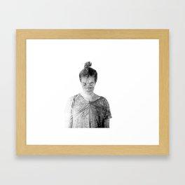 Inner Spirits. Time. Framed Art Print