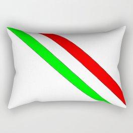 flag of Italia scarf- Italy,Italia,Italian,Latine,Roma,venezia,venice,mediterreanean,Genoa,firenze Rectangular Pillow