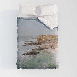 california coast ii / santa cruz Comforters