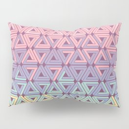 Holographic Candy Geometric Pillow Sham