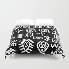 African Motif Duvet Cover