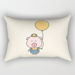 Little Piggy Rectangular Pillow