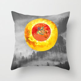 just another landscape Throw Pillow