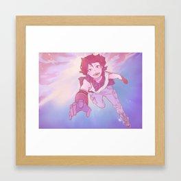 Shark boy Kirishima Framed Art Print