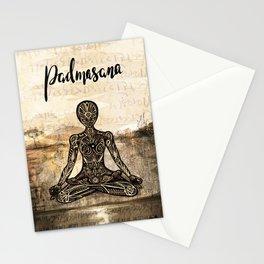 Padmasana Stationery Cards