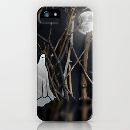 Lonely Ghost iPhone Case