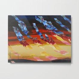 Sea Crest Sunset 7 Metal Print