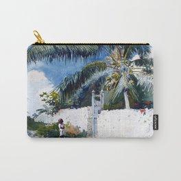 Winslow Homer A Garden in Nassau Carry-All Pouch