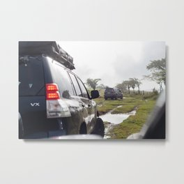 Offroading in Costa Rica Metal Print