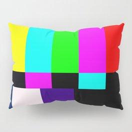 No Signal TV Pillow Sham