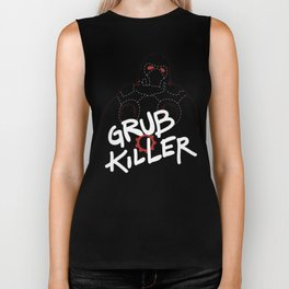 Grub Killer (Red) Biker Tank