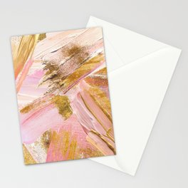 Blush Glitz Stationery Cards