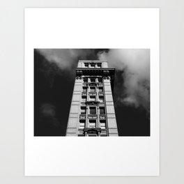 Look up New York 2 Art Print