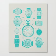 Blue version Canvas Print