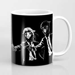 Pulpaca Fiction Pulp Fiction Coffee Mug