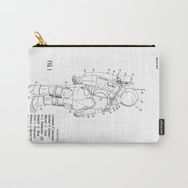 NASA Space Suit Patent Carry-All Pouch