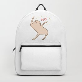 Honest Blob Says No Backpack