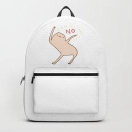 Honest Blob Says No Backpack