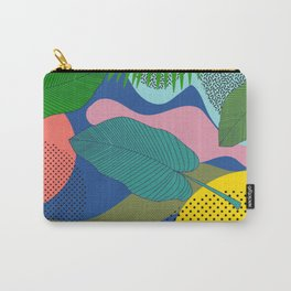 ABSTRACT JUNGLE PATTERN Carry-All Pouch