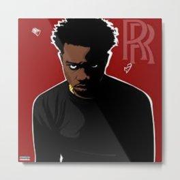 Roddy - Rich - Ricch - BLM - Hip Hop - Society6 Rapper Singer Compton California n7 Metal Print