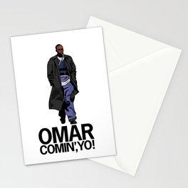 Omar Comin' Yo Stationery Cards