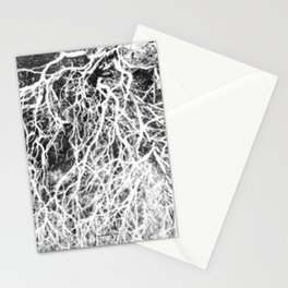 Glowing Brush Stationery Cards