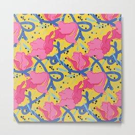 Cheerful Spring 2015 Pattern Metal Print