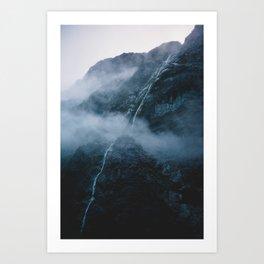 Milford Sound, New Zealand Art Print
